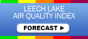 Leech Lake Air Quality Forecast